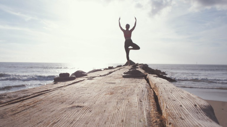 Yoga has a strong presence on Tinder in Cape Town