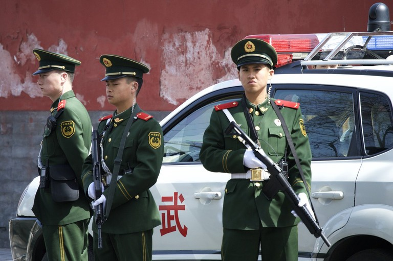 Crime is virtually non-existent in Beijing