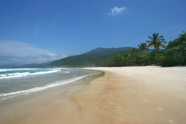 Lopes Mendes, the most beautiful beach on Ilha Grande