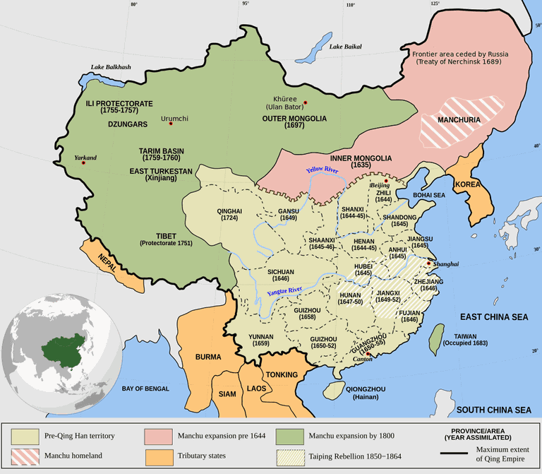 Qing_Empire_circa_1820_EN.svg