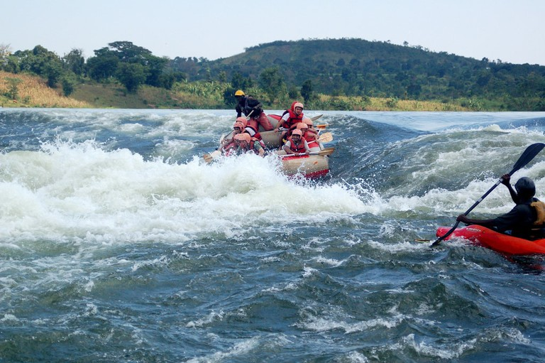 Rafting on the Nile | © Michell Zappa / Flickr