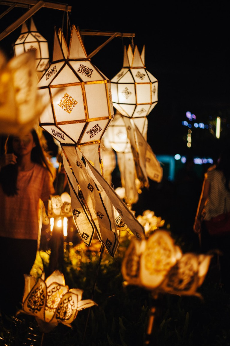 RAW 029-EMIDI- Loi Krathong- Three Kings Monument, Chiang Mai, Thailand