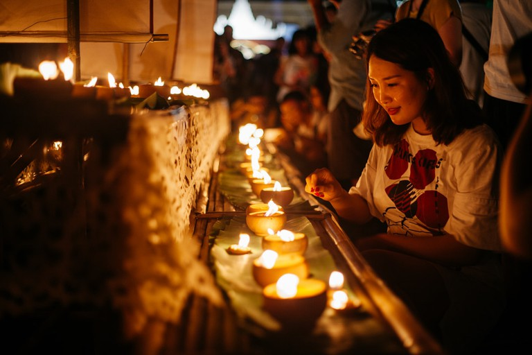 RAW 035-EMIDI- Loi Krathong- Three Kings Monument, Chiang Mai, Thailand