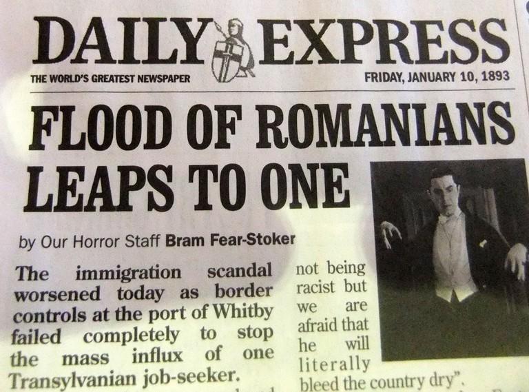 Romanian immigrants