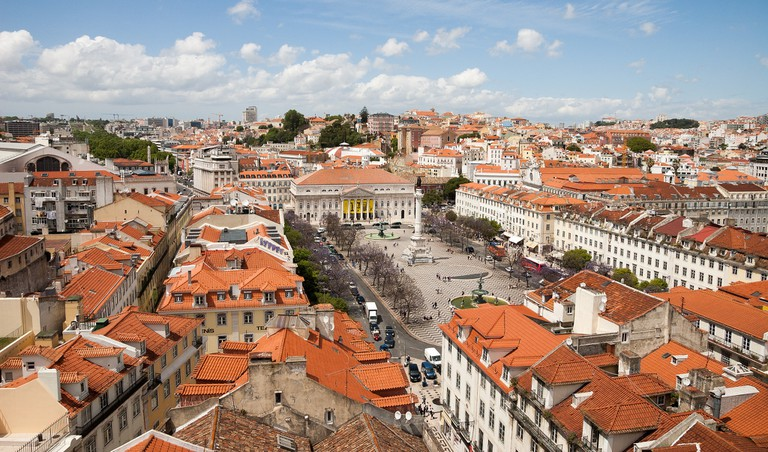 Rossio Square, Lisbon   © Ilya Platonov:Flickr