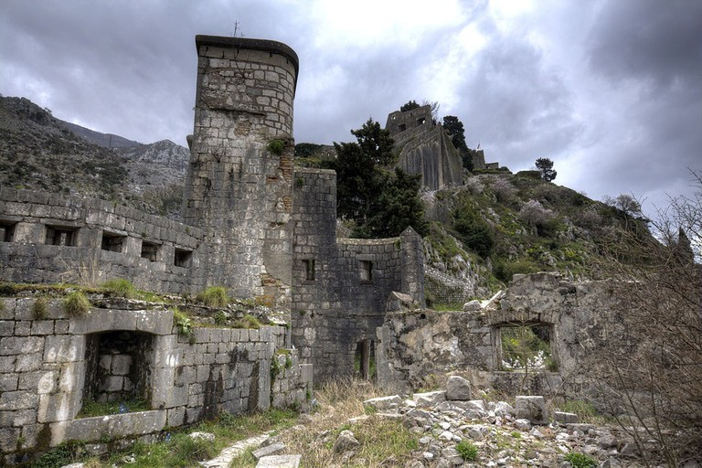 Ruins of Fort San Giovanni, Kotor | © Prioryman/WikiCommons