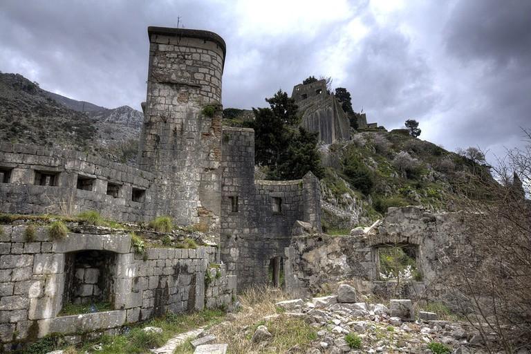 Ruins of Fort San Giovanni, Kotor
