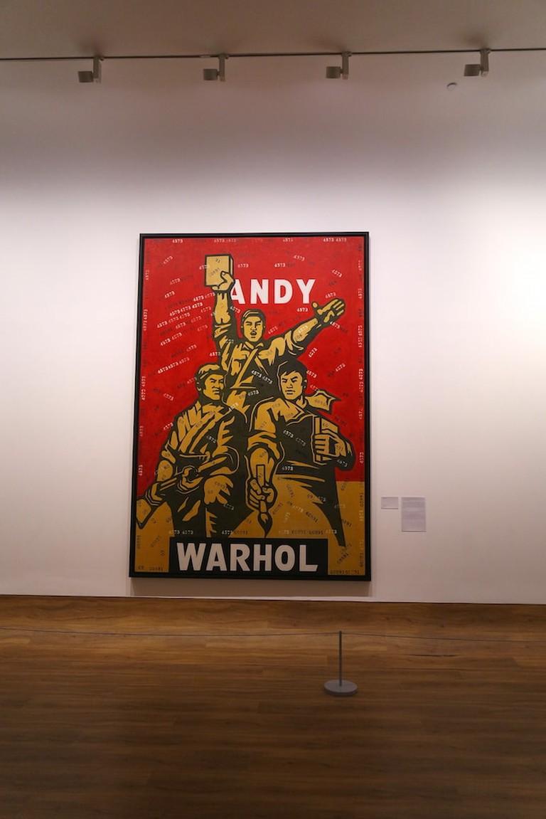 Andy Warhol by Wang Guangyi | © Culture Trip
