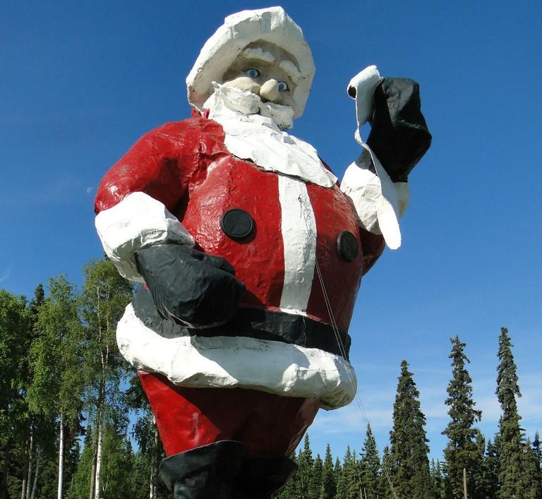 Santa alaska