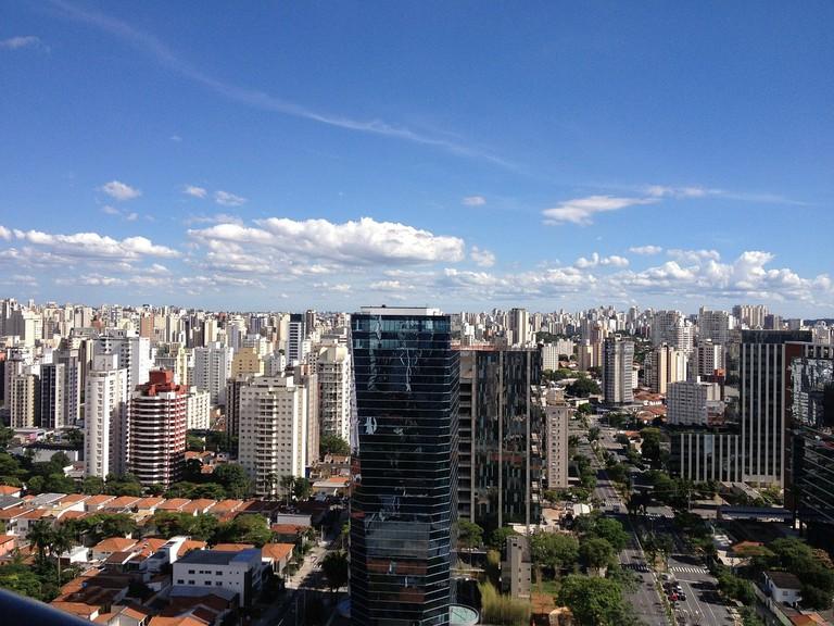 São Paulo, the concrete jungle