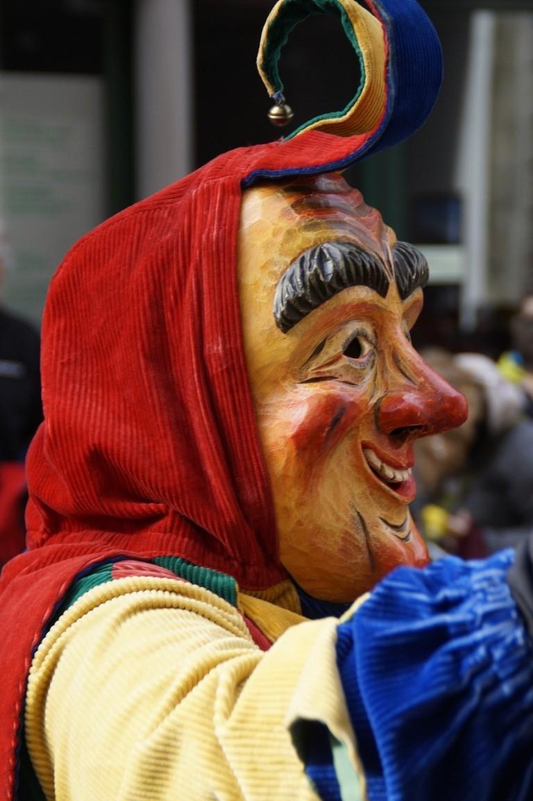 Jester costume in Germany carnival