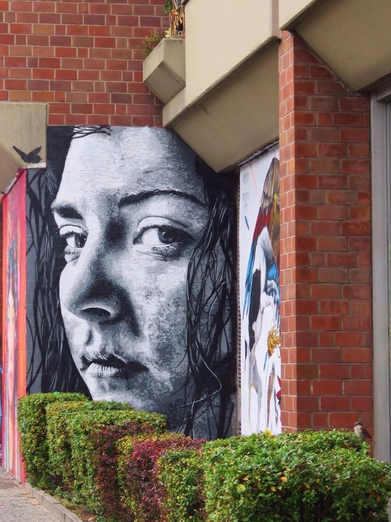 Street art in Schoneberg