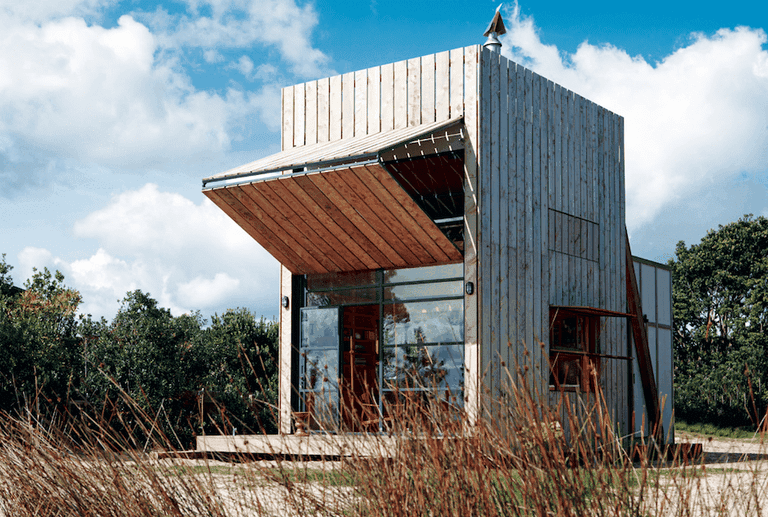 By Crosson Clarke Carnachan Architects, Photography by Jackie Meiring from the book Rock the Shack