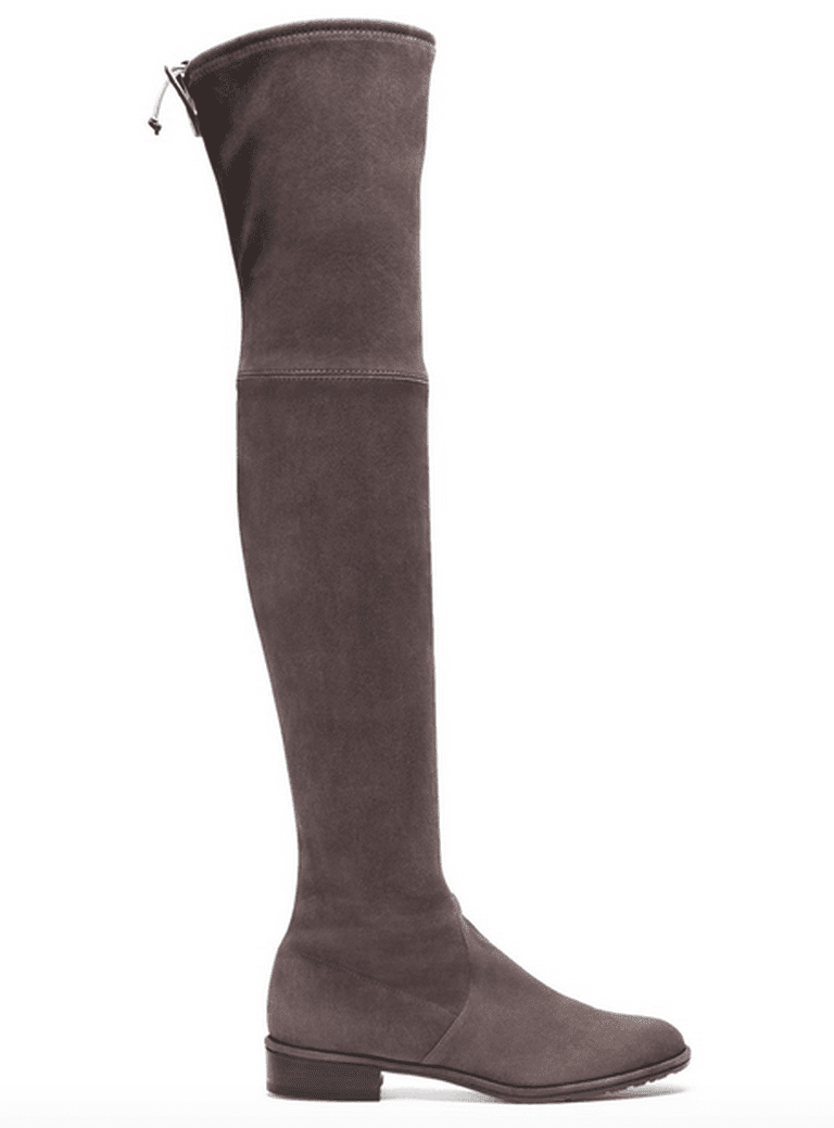 Lowland stretch-suede boots