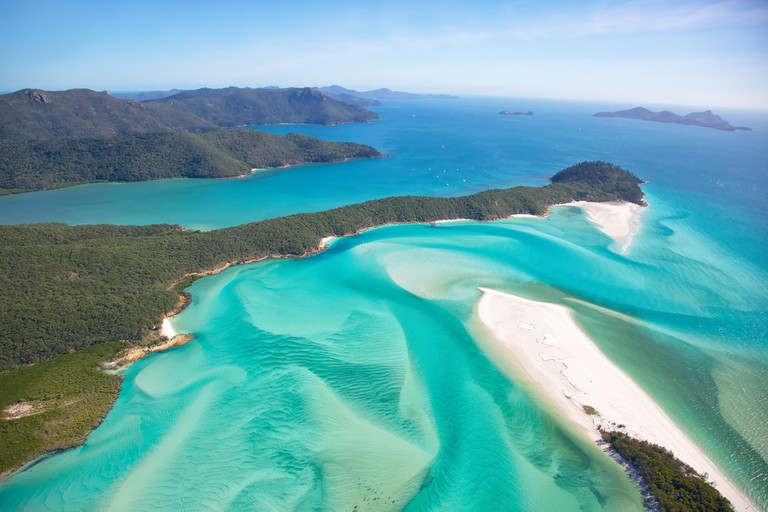 Whitehaven Beach, the Great Barrier Reef