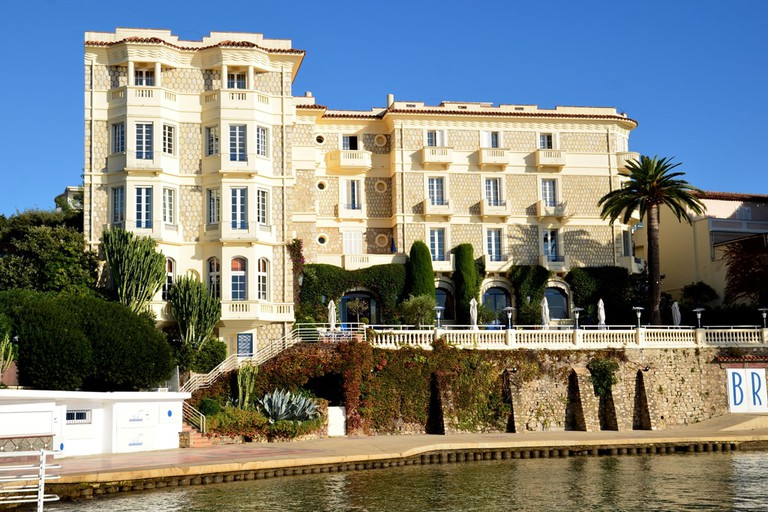 The Hotel Belles Rives in Antibes where Fitzgerald lived when it was a villa