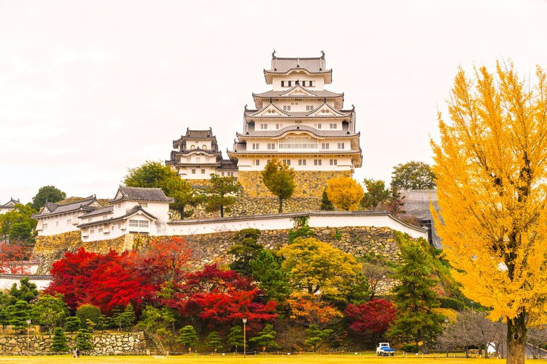Himeji Castle is the most beautiful castle in Japan
