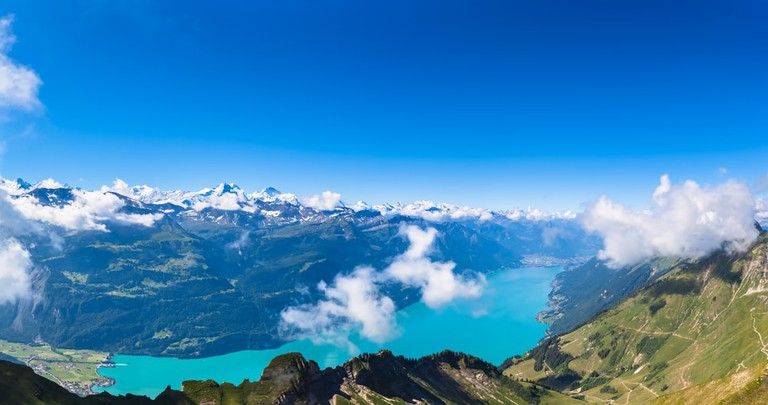 Brienz lake from the Brienzer Rothorn