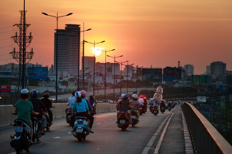 Riding a motorbike in Vietnam can be a beautiful experience