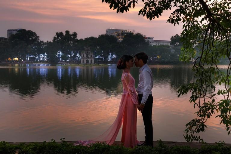 Very popular spot for wedding photos   © Quang nguyen vinh/shutterstock