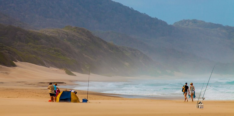 Beach at Isimangaliso Wetland Park South Africa
