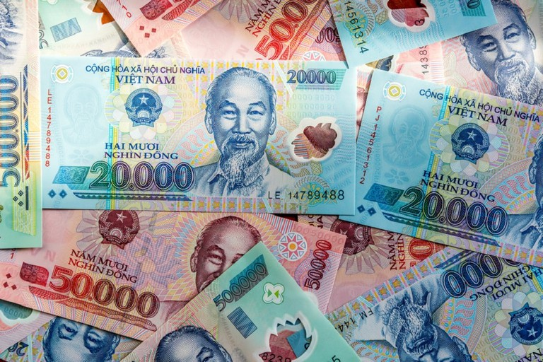 Vietnamese cash takes a bit of getting used to