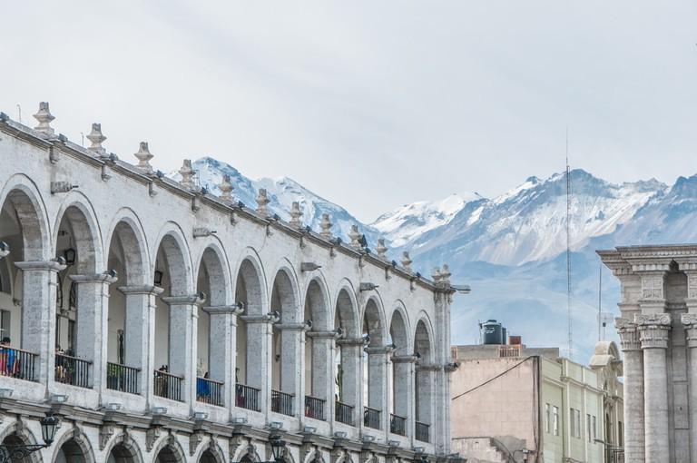 Arequipa Cathedral Basilica, Plaza de Armas | © JM88 / Shutterstock