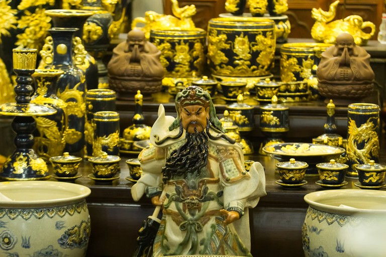 All the ornate porcelain and ceramics you could ever want | © Tony Albelton/shutterstock