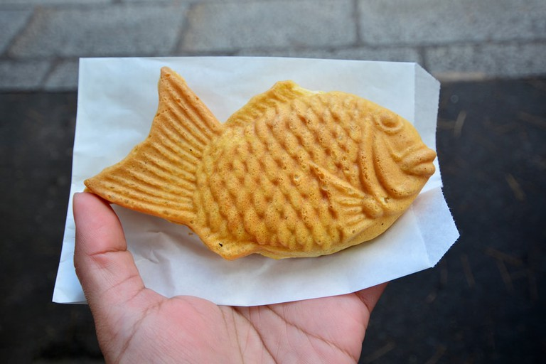 Taiyaki are typically shaped like fish