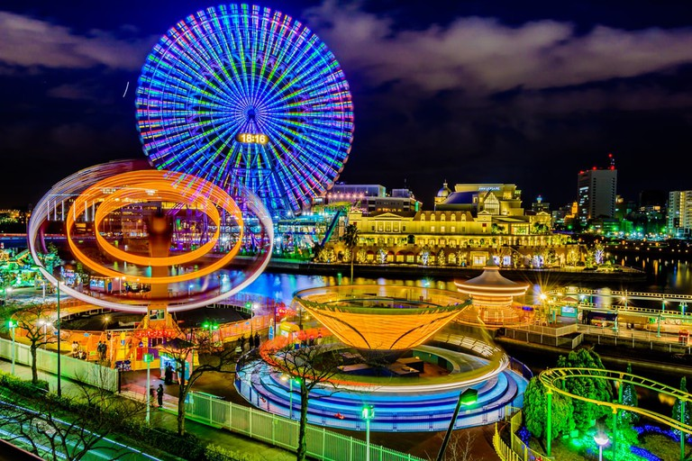 Cosmo World in Yokohama offers fun for the whole family