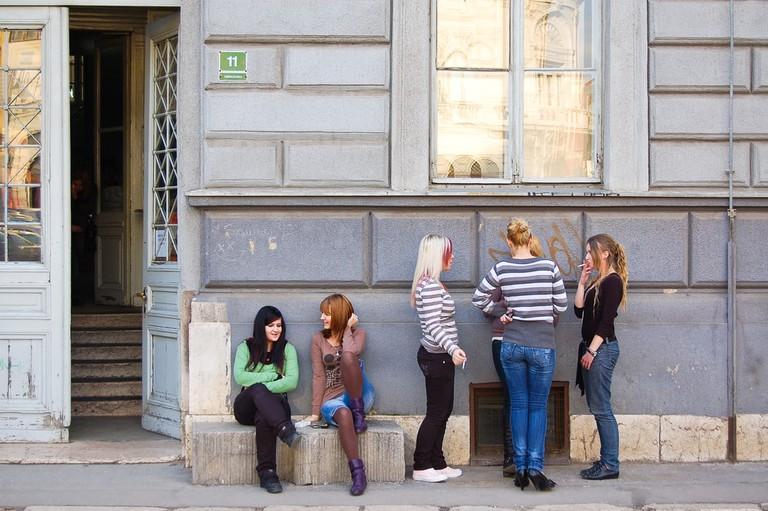 Young adults in Sarajevo | © giovanni boscherino/Shutterstock