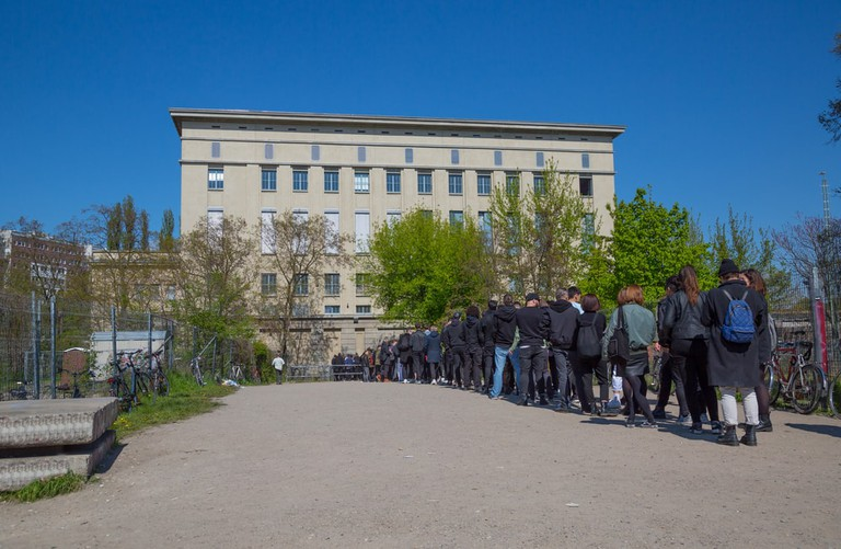 Line for Berghain