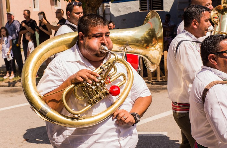 Love brass instruments? You'll love Guča