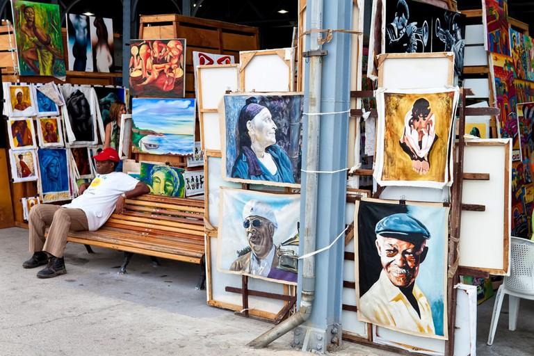 Havana's Old Harbor Art Market