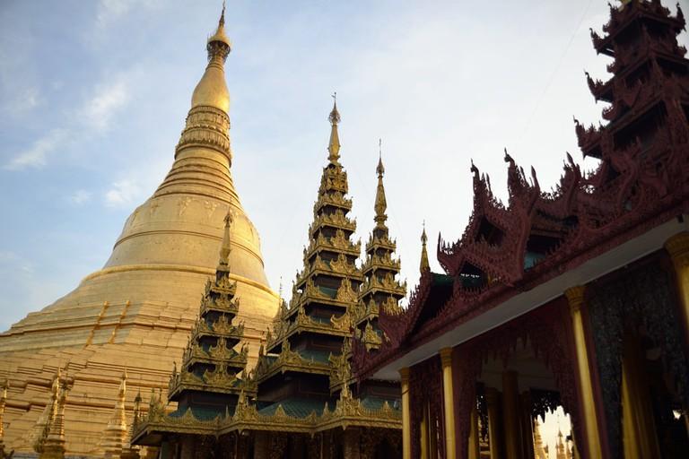 Shwedagon-Pagoda-in-Yangon-Myanmar
