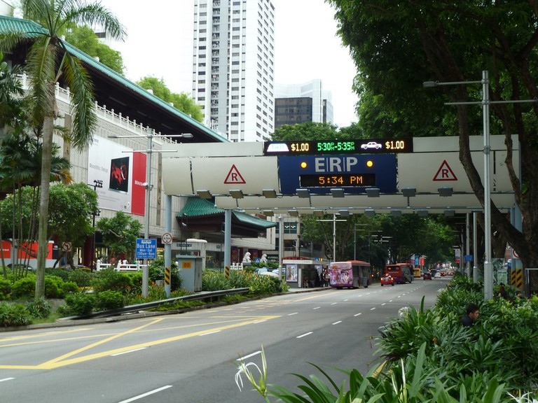 ERP Gantry at Orchard Road
