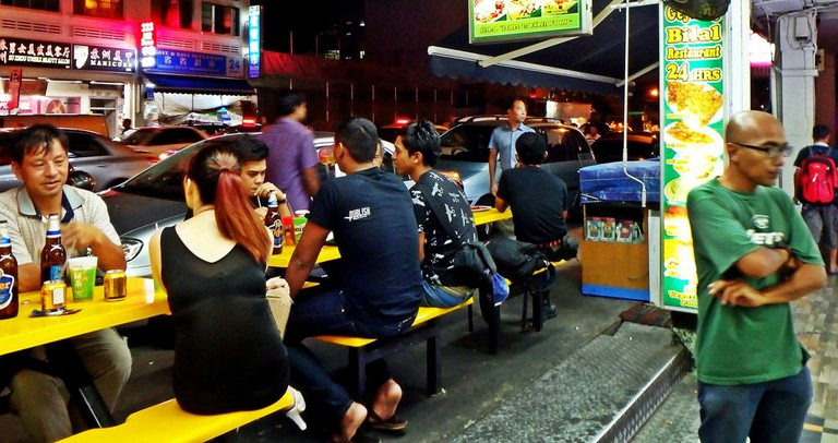 Singapore Kopitiam in Geylang at Night