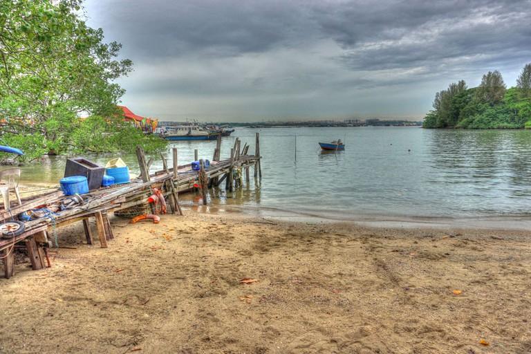 Boats at Pulau Ubin