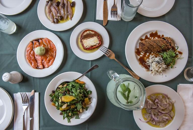 The delicious food of Uri Buri