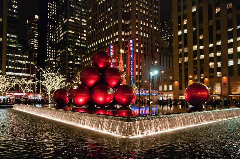 Sixth Avenue ornaments