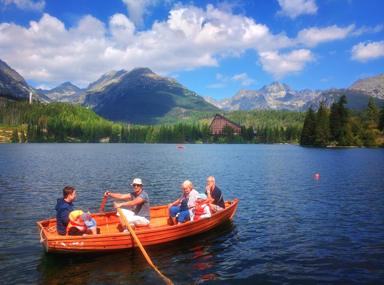Spending time on the water is a highlight of visiting Slovakia in the summer