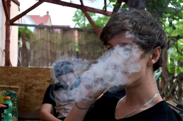 Smoking in public places of assembly is illegal all across India and carries a fine of Rs.200