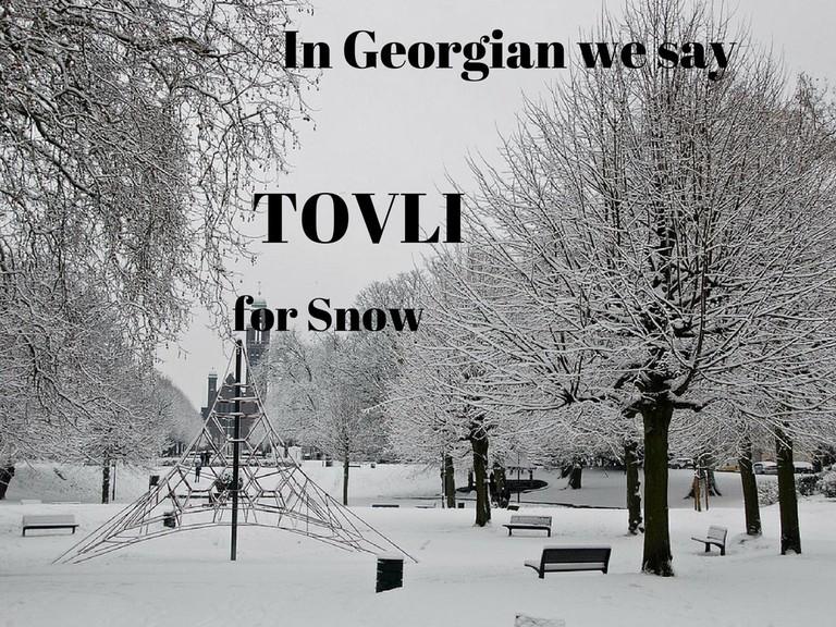 Tovli – Snow
