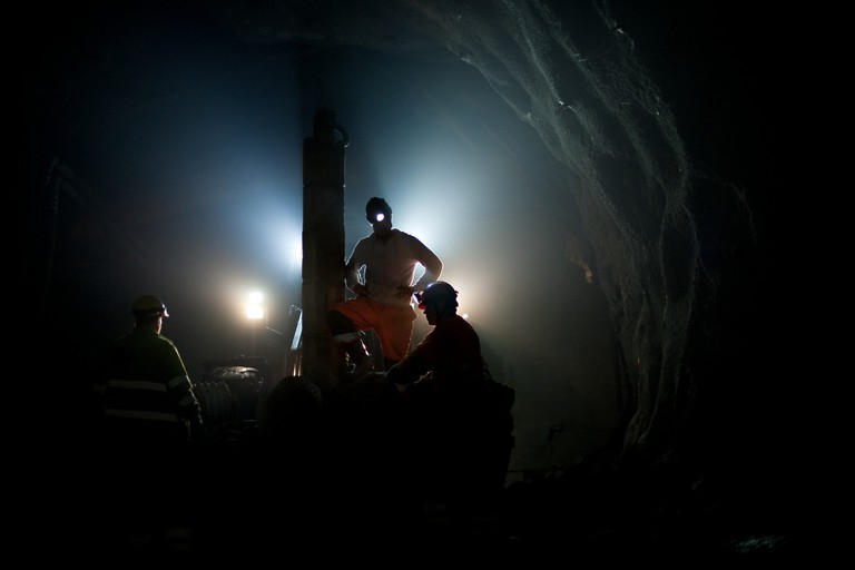 Mining is the main occupation in Kiruna /