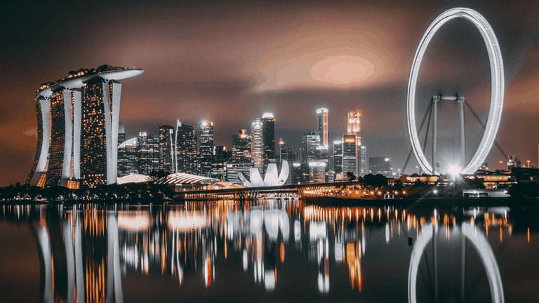 El horizonte de Singapur