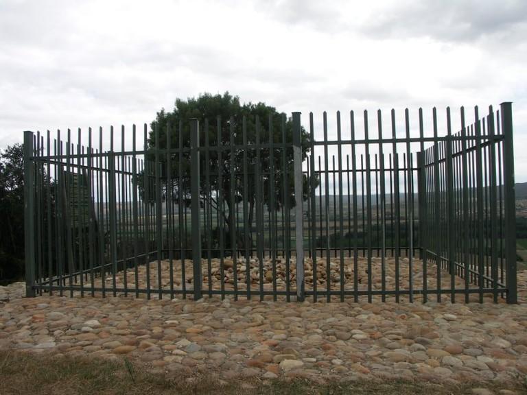 Sarah's grave