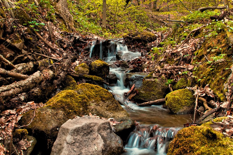 As the snow melts, the rivers and streams come back to life and Slovakia's many waterfalls enjoy their peak season