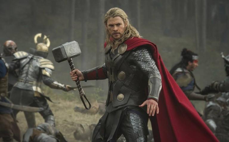 Chris Hemsworth as Thor in Thor-The Dark World (2013)