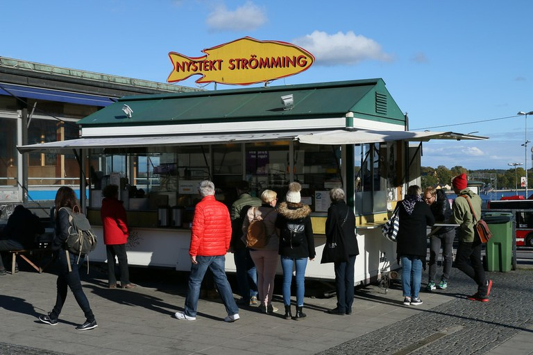Nystket Stromming is a real Stockholm institution