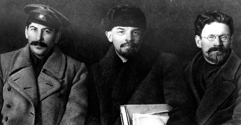 Stalin, Lenin and Kalinin, 1919